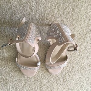 Marc Fisher ankle strap high heels, size 7.5